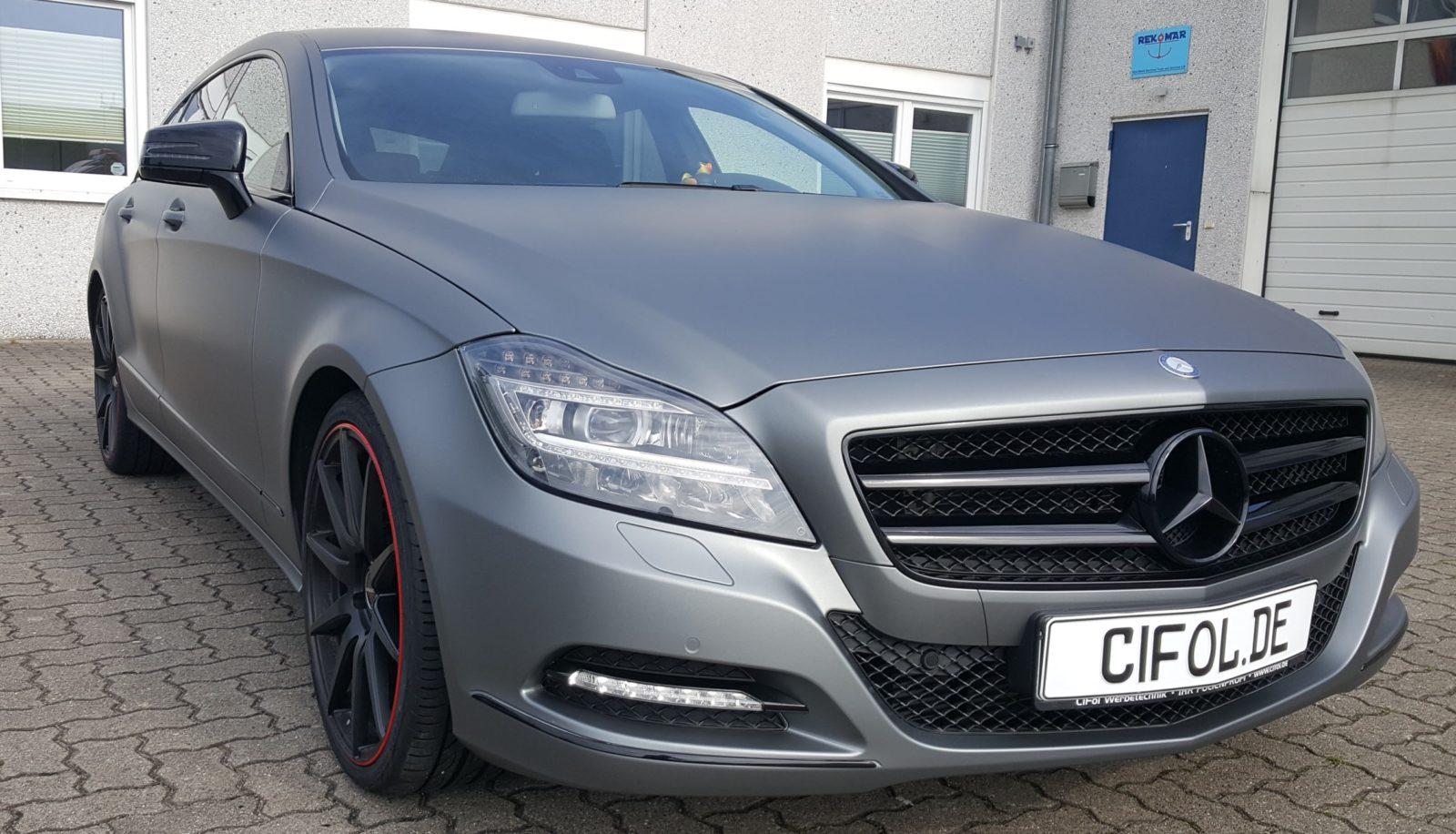 Premiumfolierung Mercedes-Benz CLS Shooting Brake
