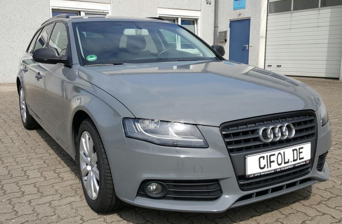 Premiumfolierung Audi A4