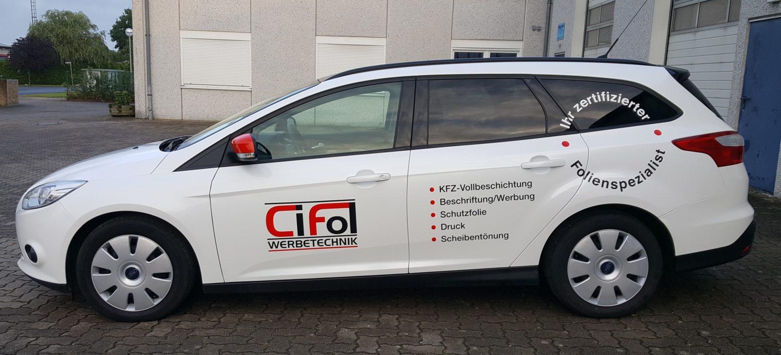 Neuer Firmenwagen!