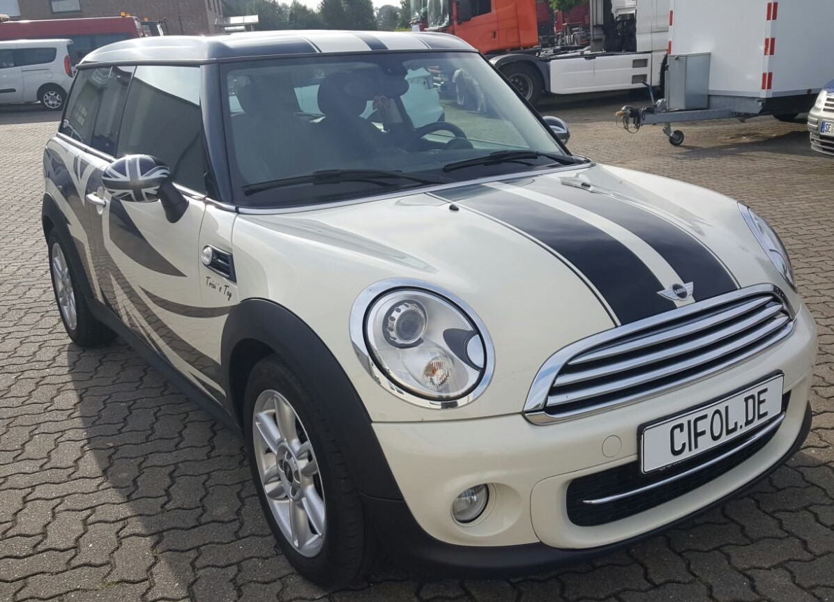 Mini Clubman -Union Jack-