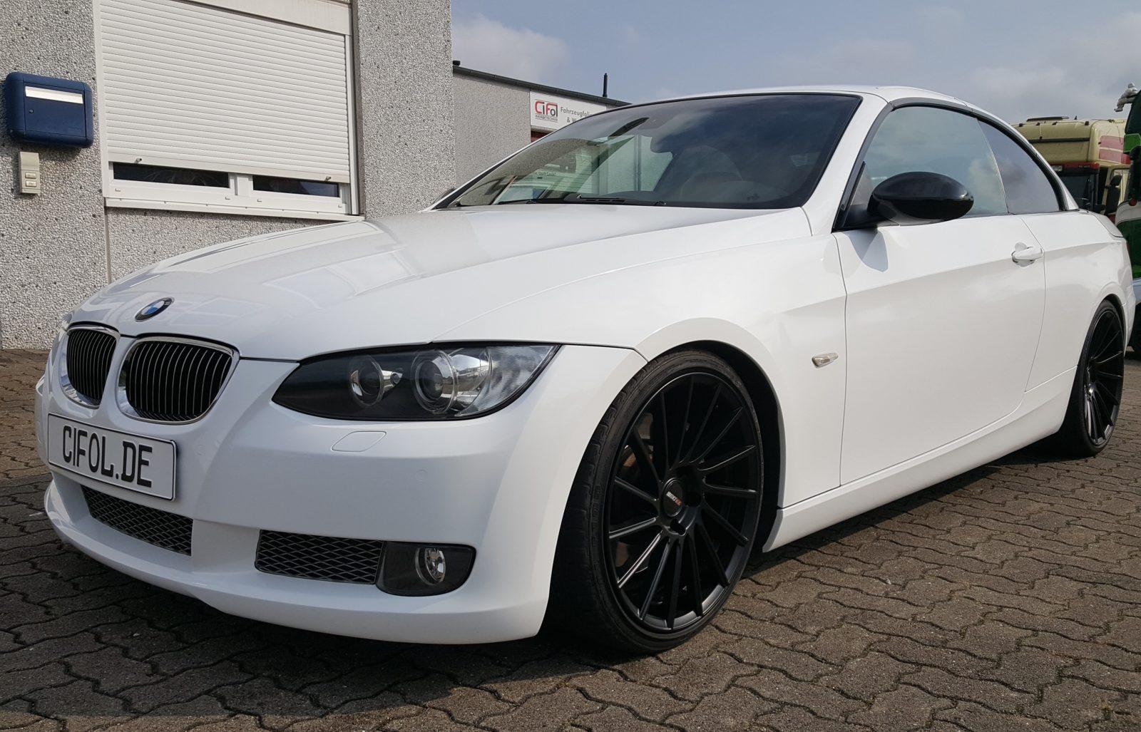 Premiumfolierung 3er BMW Cabriolet