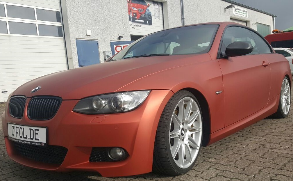 Premiumfolierung 3er BMW Cabrio