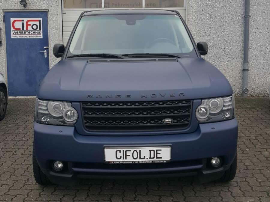 Premiumfolierung Range Rover Vogue