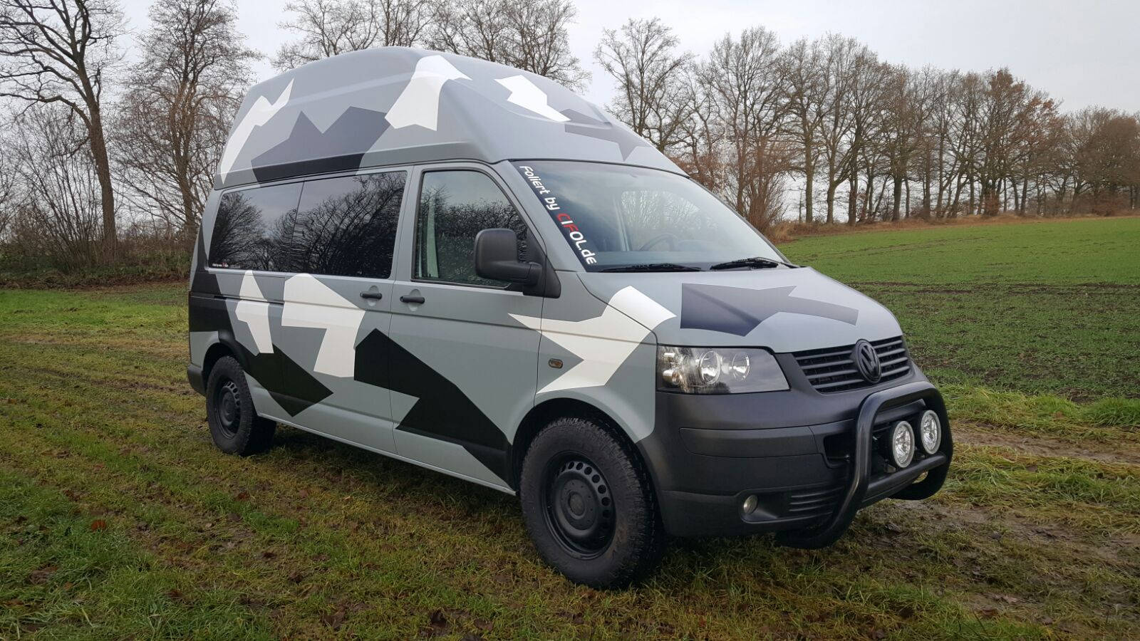 VW-T5 Camouflage