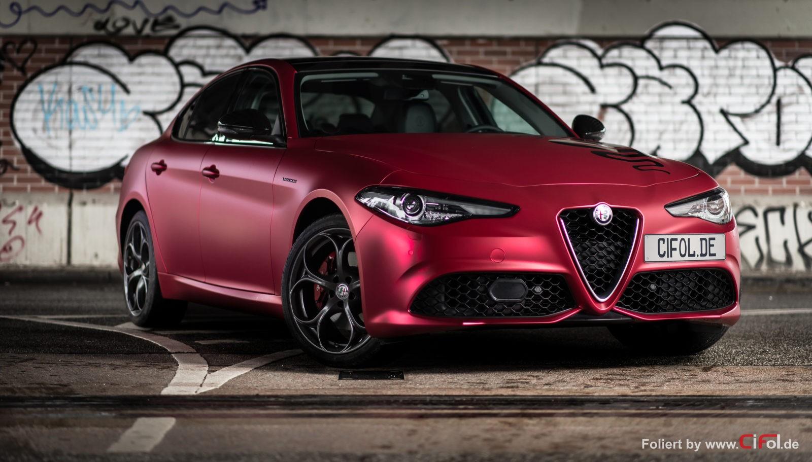 Premiumfolierung Alfa Romeo Giulia