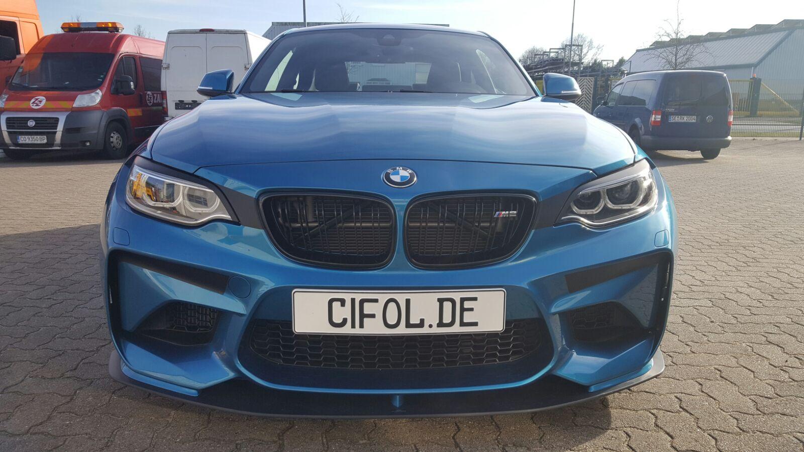 Teilfolierung BMW M2
