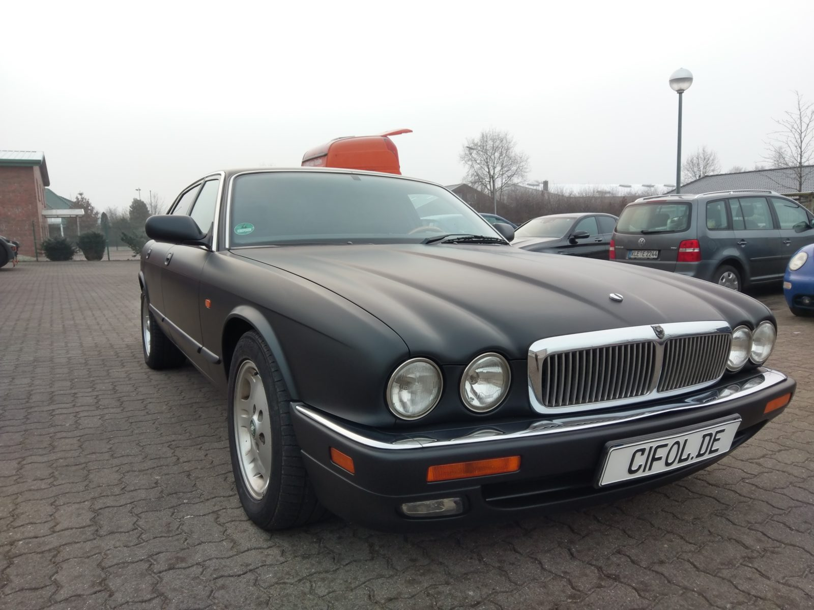 Premiumfolierung Jaguar X300