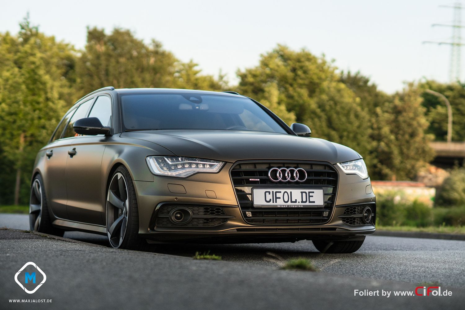 PWF exclusive Folierung Audi A6