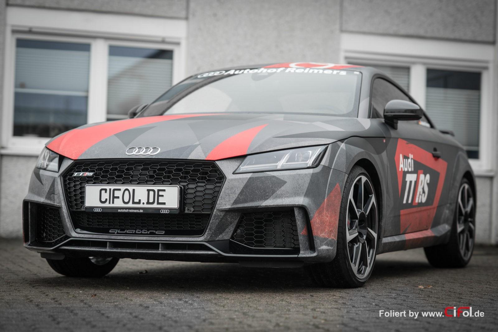 Premiumfolierung Audi TT RS
