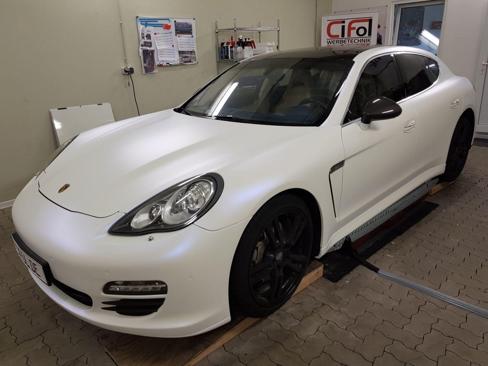 Premium Vollfolierung Porsche Panamera