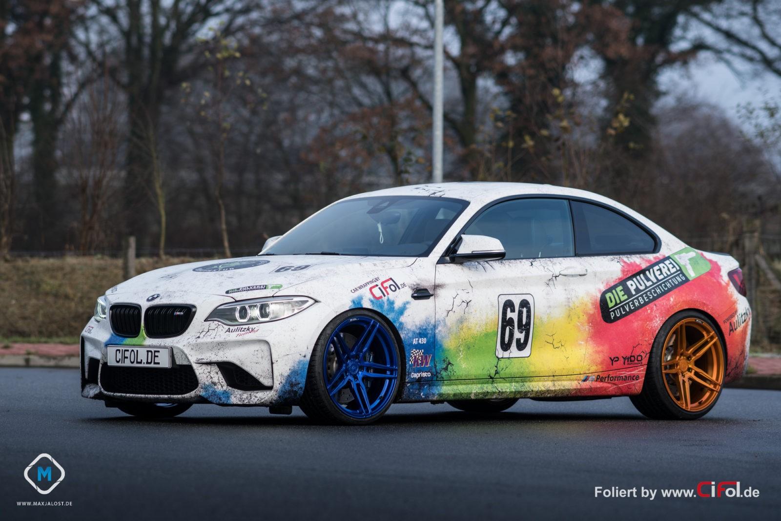 Premium Vollfolierung BMW M2