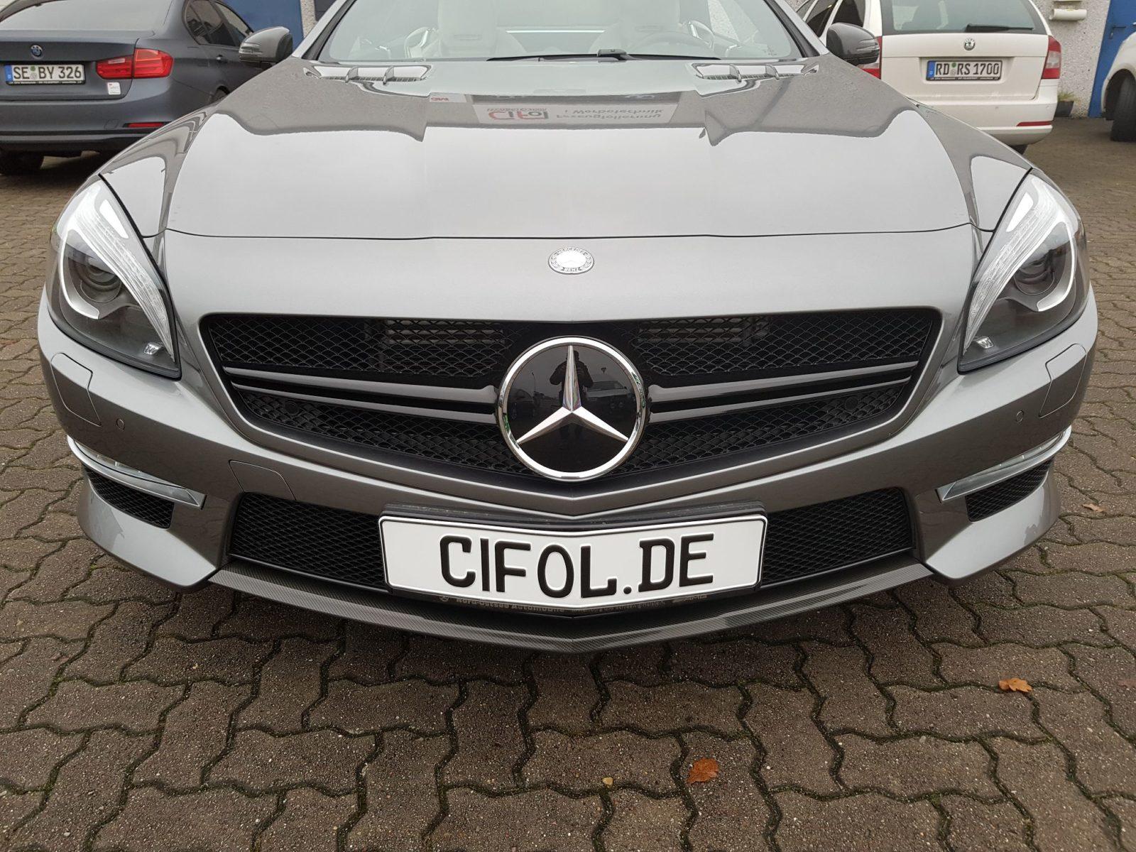 Teilfolierung Mercedes SL63