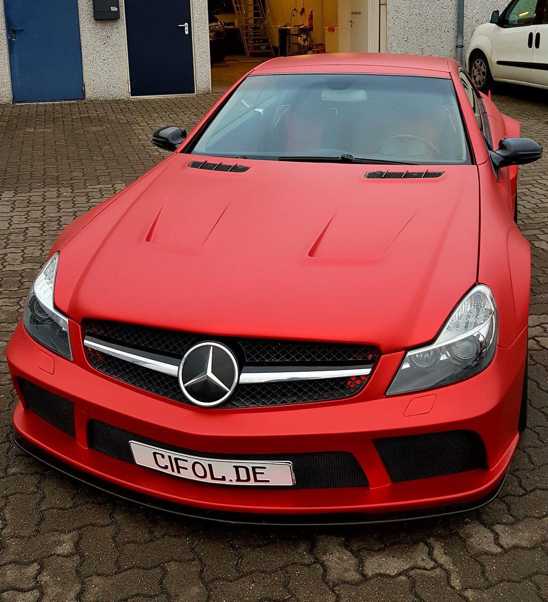 Premium Vollfolierung Mercedes SL500