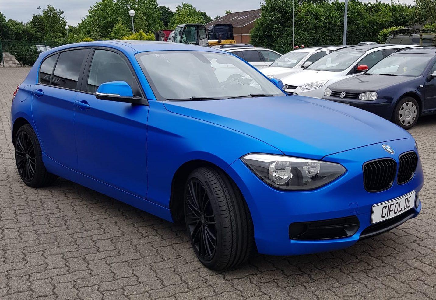 Premium Vollfolierung 1er BMW