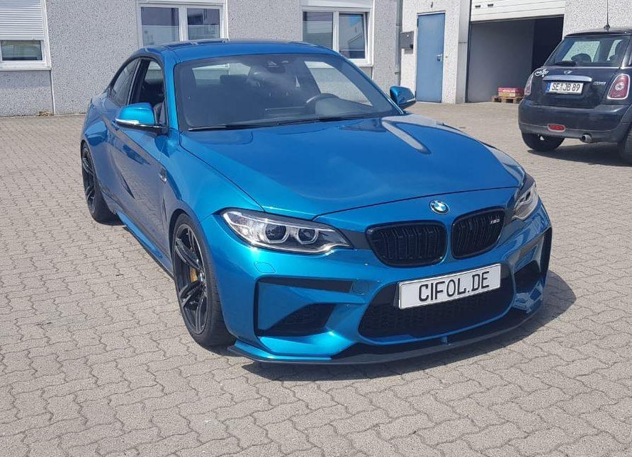 Schutzfolie BMW M2