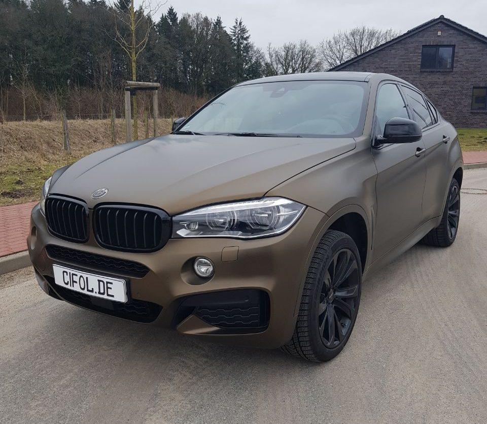 Premium Vollfolierung BMW X6
