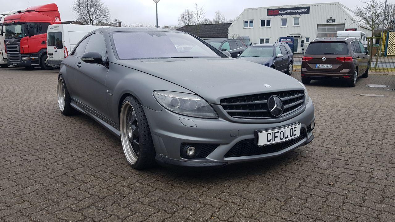 Premium Vollfolierung Mercedes CL63