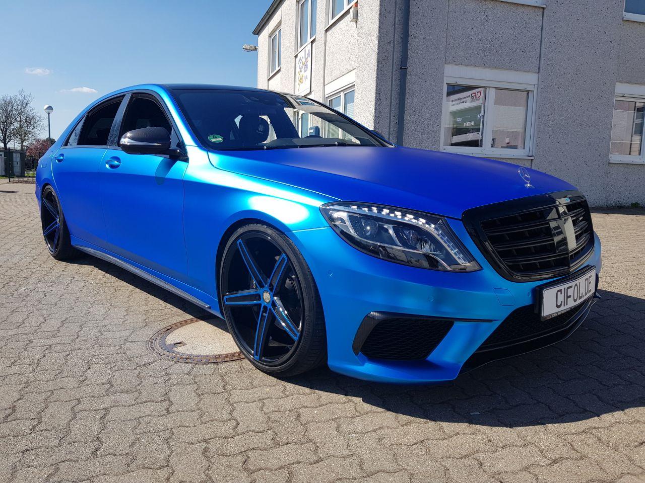 Premium Vollfolierung Mercedes S-Klasse