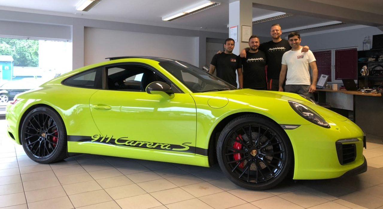 Porsche Designstreifen