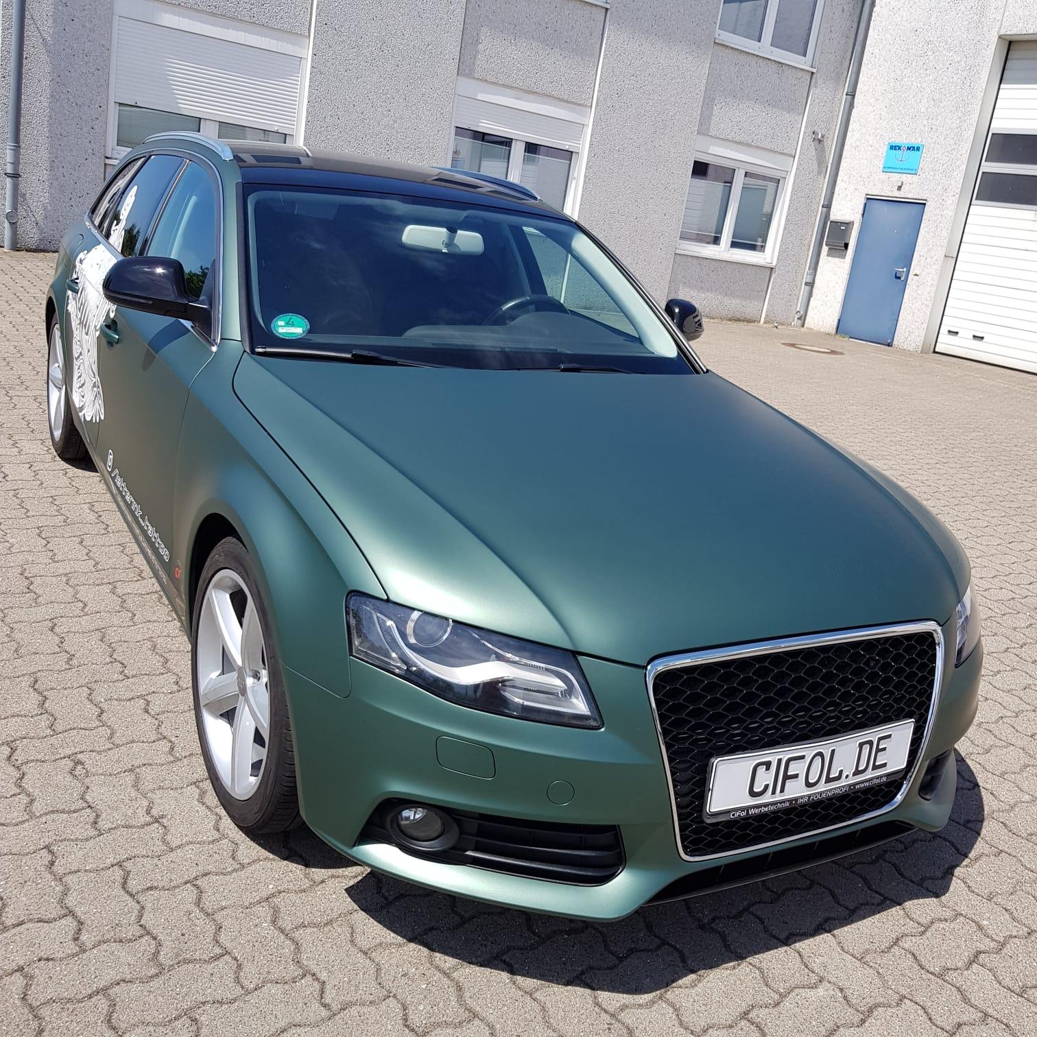 Premium Vollfolierung Audi A4