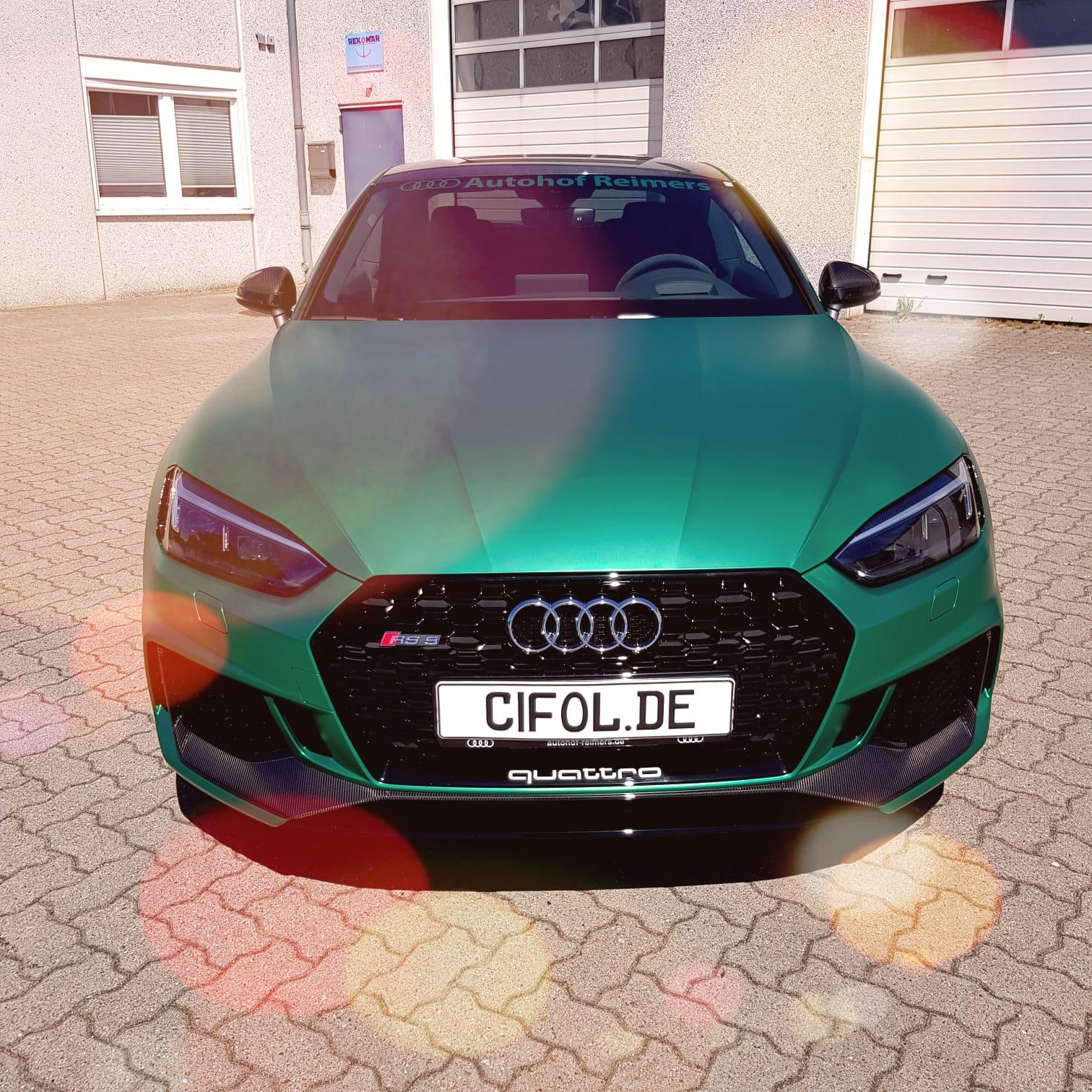 Premium Vollfolierung Audi RS5 Coupé