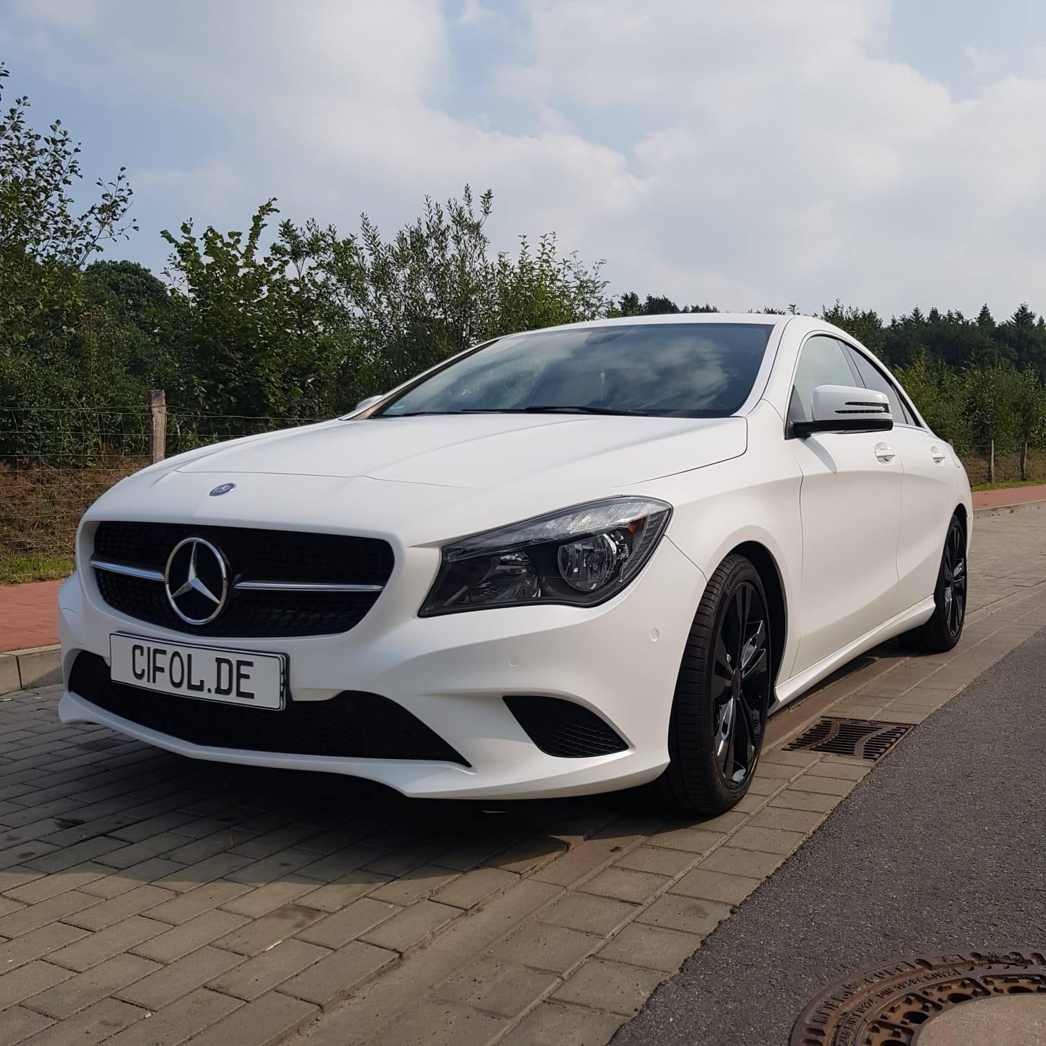 Premium Vollfolierung Mercedes CLA