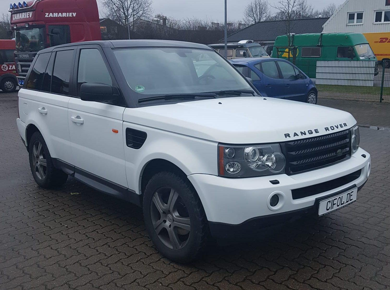 Premium Folierung Range Rover