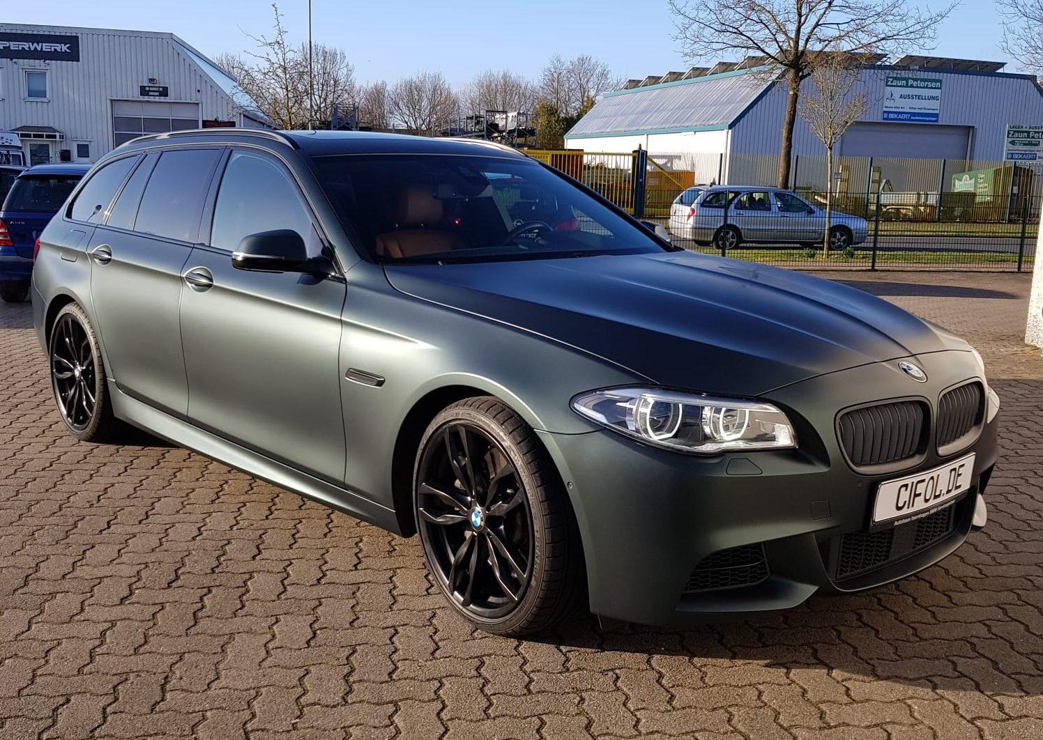 Premium Plus Folierung eines 5er BMW