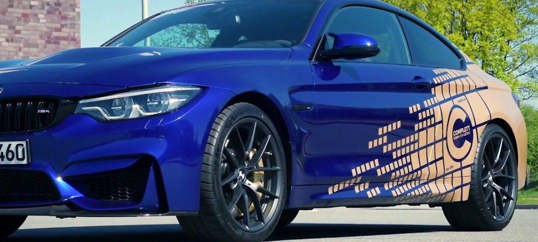 CiFol-Werbetechnik foliert einen BMW M4 CS