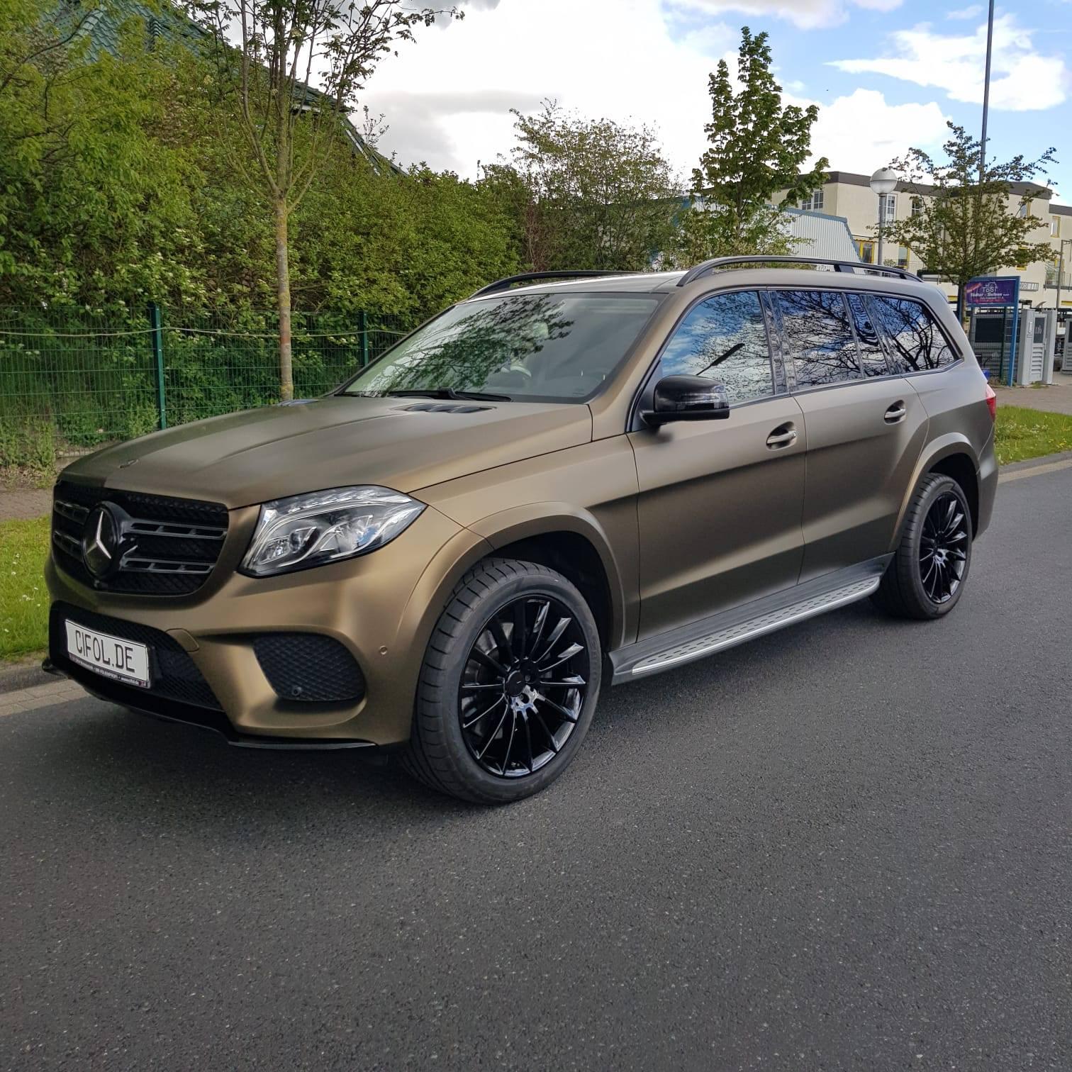 Premium Vollfolierung Mercedes CLS