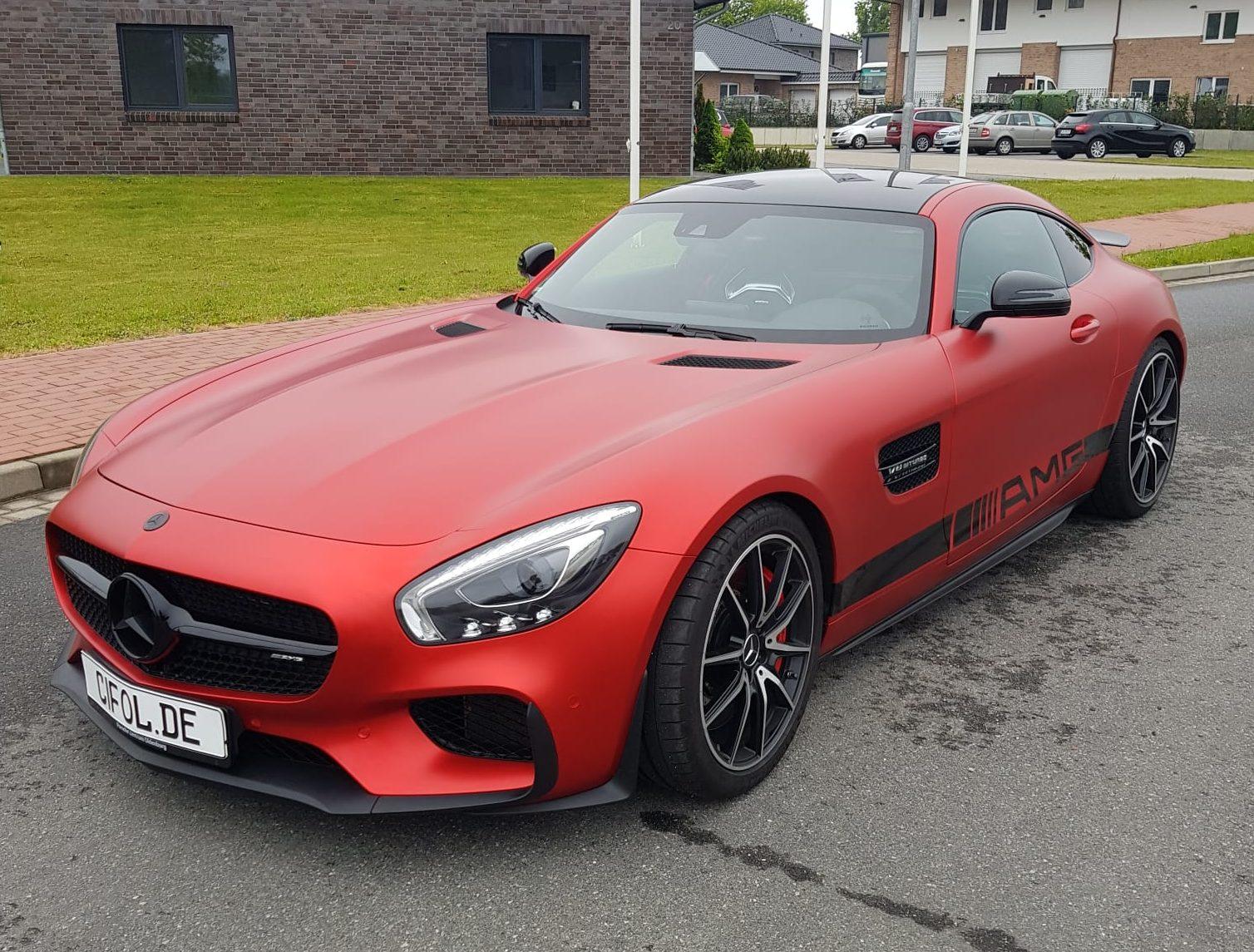 Premium Vollfolierung Mercedes GTS