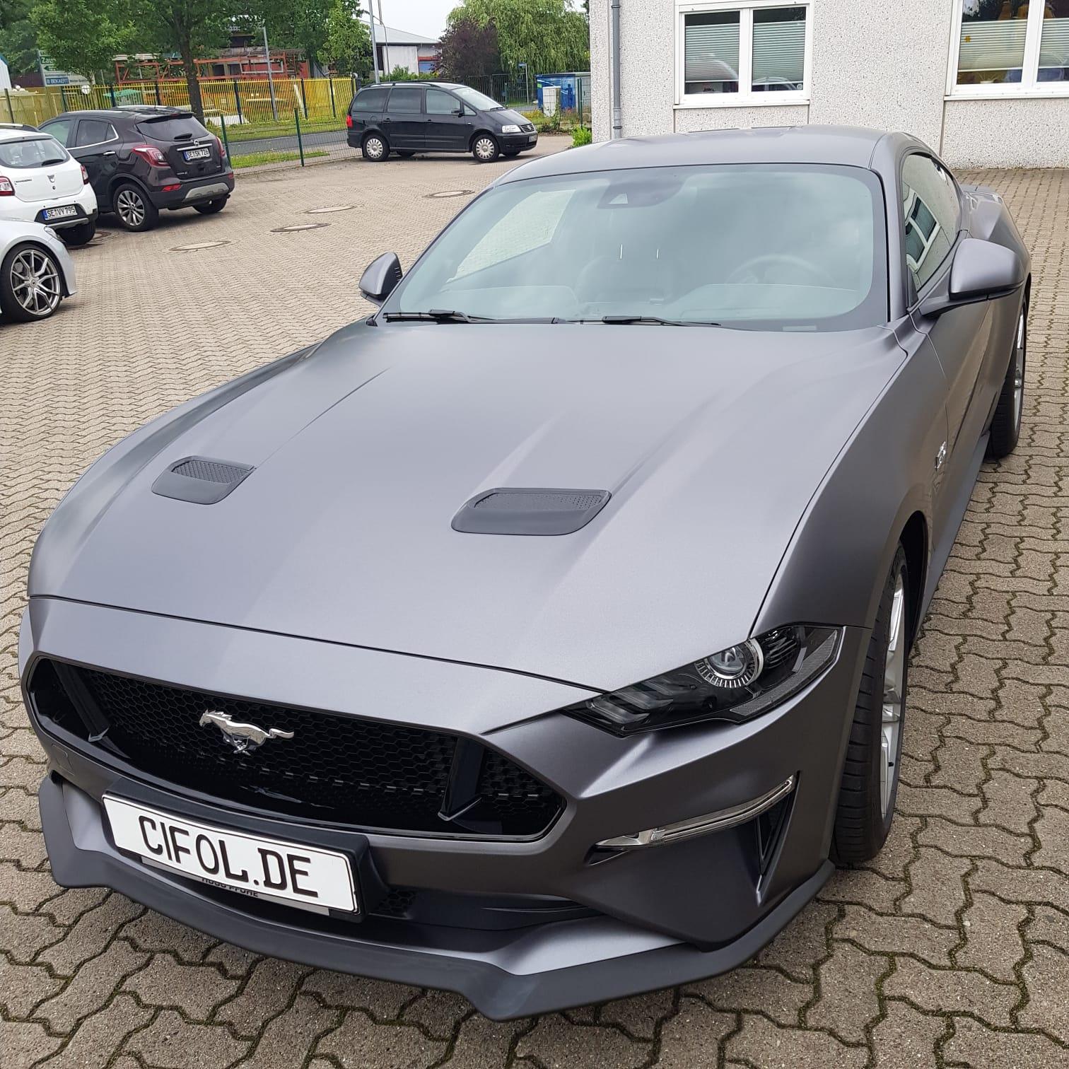 Vollfolierung Mustang GT